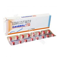 Caverta 50mg (Sildenafil Citrate)