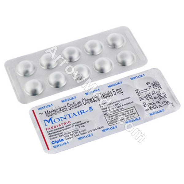 Montair Chewable Tablets 5mg