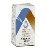Nevanac Eye Drop (Nepafenac)