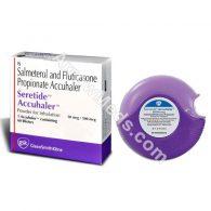 Seretide 50mcg/500mcg Accuhaler (Salmeterol/Fluticasone)
