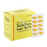 Tadalista Super Active 20mg (Tadalafil) - Soft Gelatin Capsules