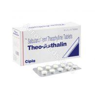 Theo Asthalin Tablet (Salbutamol / Theophylline)