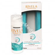 Rivela SPF 50 Sunscreen Lotion (Vitamin E)
