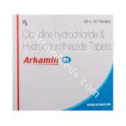 Arkamin H (Clonidine/Hydrochlorothiazide)