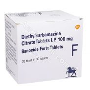 Banocide Forte 100mg (Diethylcarbamazine)