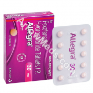 Allegra 30mg (Fexofenadine)