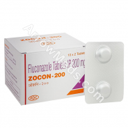 Zocon 200mg (Fluconazole)