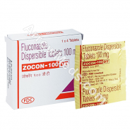 Zocon DT 100mg (Fluconazole)