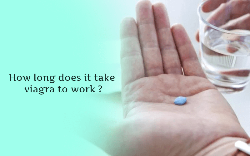 How long does it take viagra to work?