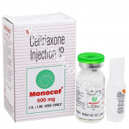 Monocef Injection 500mg (Ceftriaxone)