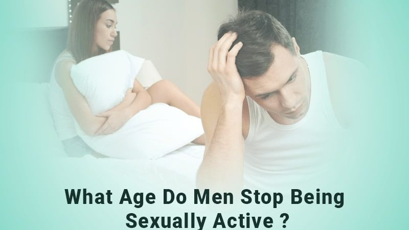 What age do men stop being sexually active?
