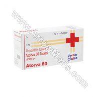 Atorva 80 mg (Atorvastatin)