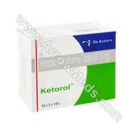 Ketorol 10 mg Tablets (Ketorolac)