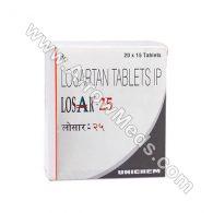 Losar 25 mg (Losartan Potassium)