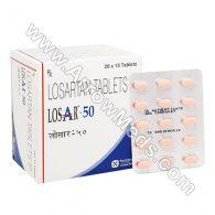 Losar 50 mg (Losartan Potassium)
