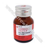 Neo-Mercazole 5 mg (Carbimazole)