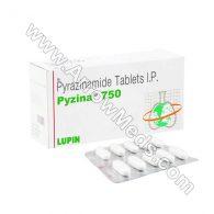 Pyzina 750 mg (Pyrazinamide)