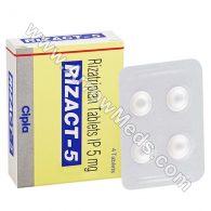 Rizact 5 mg (Rizatriptan)