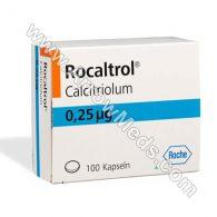 Rocaltrol 0.25 mg (Calcitriol)