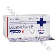 Zytanix 5 mg (Metolazone)